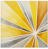 Jla Home Intelligent Design Ray of Sunshine Gel-Coated Canvas Print