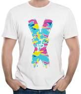 COSANCL Jake Paul Camouflage X Men's Fashion Crew Neck Tee Shirt