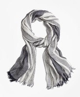 Brooks Brothers Boucle Oblong Scarf