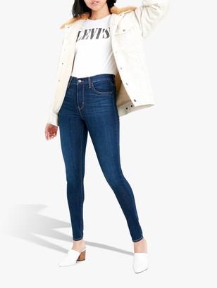 Levi's 720 High Rise Super Skinny Jeans, Indigo Daze