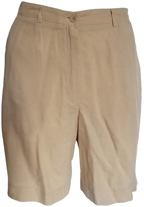 BEIGE Non Signe / Unsigned Shorts for Women Vintage