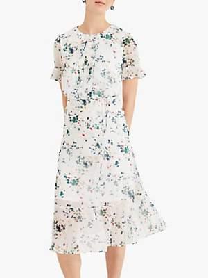 Phase Eight Tallulah Floral Dress, Cream