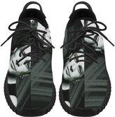 Angelinana Angelinan Custom jon bon jovi Women's Breatheable Woven Fashion Running Shoes