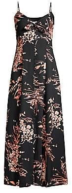 Joie Women's Almona Floral Empire-Waist Maxi Dress
