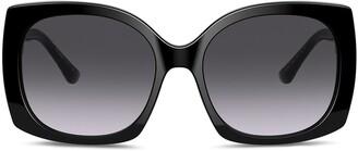 Dolce & Gabbana Eyewear Family oversized-frame sunglasses