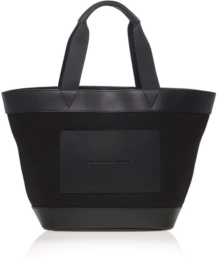 Alexander Wang Canvas Leather Tote Bag