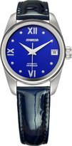 Jowissa Women's J4.055.M Monte Carlo Blue Calfskin Band Watch.