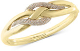 Effy D'Oro by Diamond Electro Bangle Bracelet (9/10 ct. t.w.) in 14k Yellow Gold
