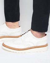 Grenson Archie Derby Brogue Shoes