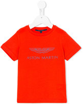 Aston Martin Kids - logo print T-shirt - kids - Cotton - 36 mth