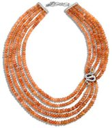 John Hardy Legends Cobra Multi-Strand Peach Moonstone Necklace, 18""