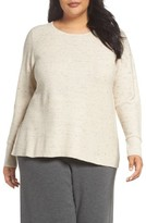 Eileen Fisher Plus Size Women's Mixed Stitch Sweater