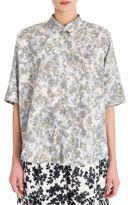 Jil Sander Floral-Print Cotton Shirt