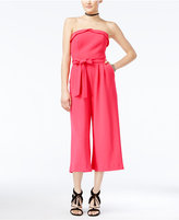 XOXO Juniors' Strapless Culotte Jumpsuit