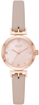 Elle Odeon Pink Analogue Watch