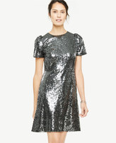 Ann Taylor Sequin Shift Dress
