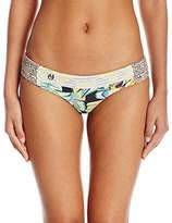 Maaji Women's Zoom Da Boom Signature Cut Bikini Bottom