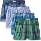 Tommy Hilfiger Men's 4 Pack Promo Assorted Blue Boxers