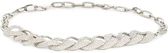 Alessandra Rich Crystal Chain Belt