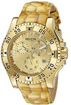 Invicta Women's 18321 Excursion Analog Display Swiss Quartz Gold Watch