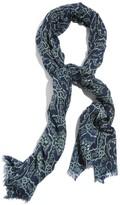 Lucky Brand 'Aicha' Print Wool Scarf