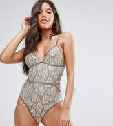 And Co Gold Lace Swimsuit
