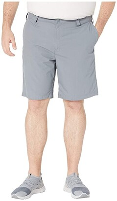 Columbia Big Tall Washed Outtm Shorts (Grey Ash) Men's Shorts