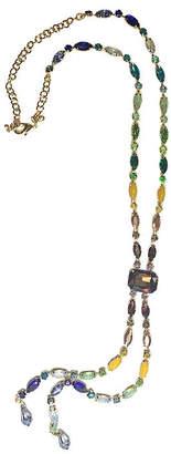 BIJOUX BAR Bijoux Bar Multi Color Link Y Necklace