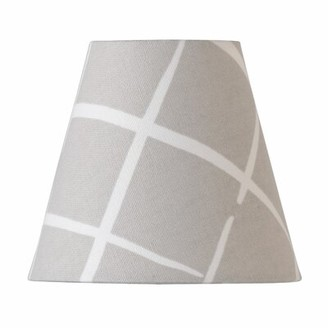 "Port 68 5"" H x 5.5"" W Cotton Drum Lamp Shade ( Clip On Color: Taupe"