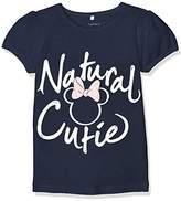 Name It Girls' Nitminnie Sky Ss Top Mini Wdi T-Shirt