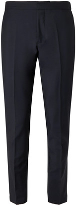 Salle Privée Midnight-Blue Seph Slim-Fit Wool And Mohair-Blend Trousers