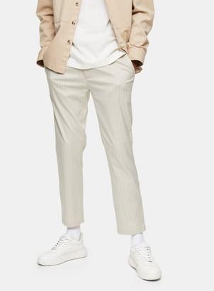 Topman Stone Stripe Jogger Trousers