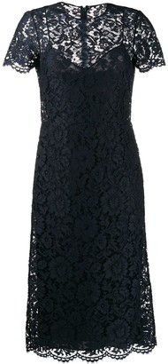 Valentino Lace Midi Dress