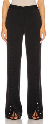 Jil Sander Snap Button Pant in Dark Blue | FWRD