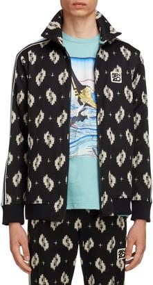 Kenzo Ikat Jacquard Track Jacket