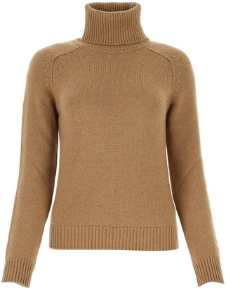 Saint Laurent Turtleneck Knit Sweater