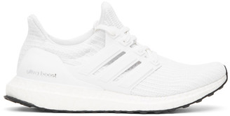 adidas White Ultraboost Sneakers
