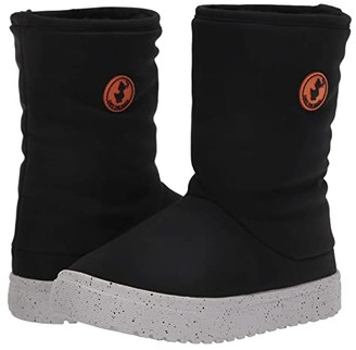 Save The Duck Kids Save the Duck Kids Faux Fur Lined Snow Boots (Little Kids/Big Kids) (Black) Kids Shoes