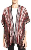 Missoni Women's Fringe Zigzag Cape
