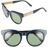 Tory Burch Women's 52Mm Retro Sunglasses - Navy