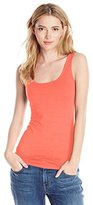 Three Dots Women's Long Fitted Tank