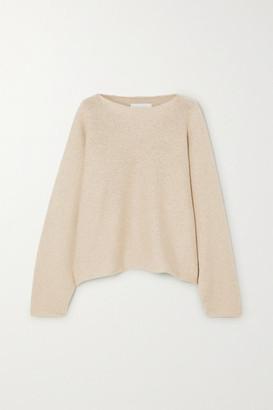 LAUREN MANOOGIAN Alpaca And Organic Cotton-blend Sweater - Beige