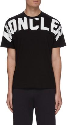 Moncler Cross chest logo print T-shirt