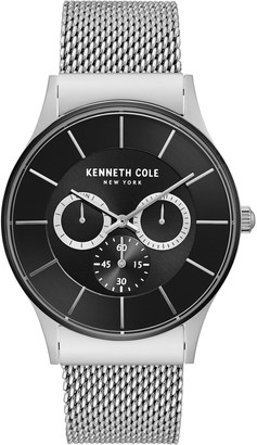 Kenneth Cole New York Men's Stainless Mesh Watch