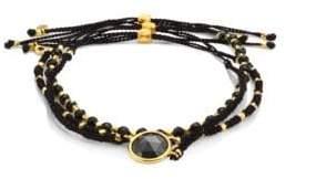 Astley Clarke Biography Rock 'N' Roll Hematite& Black Spinel Silken Beaded Bracelet