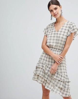 Y.A.S Sachecky Skater Dress-Cream