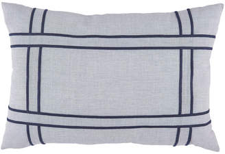 Nautica Sailor Applique Strip Throw Pillow