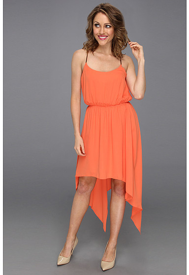 Max & Cleo Michelle High-Low Dress
