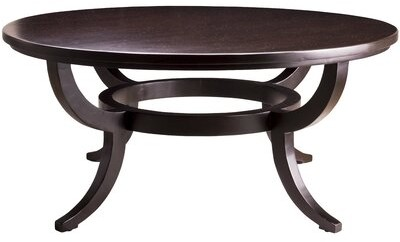 """Thumbnail for your product : MacKenzie-Dow Solid Wood Coffee Table Size: 20"""" H x 36"""" L x 36"""" W, Color: Malt"""