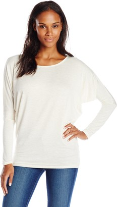 Pure Style Girlfriends Women's Dolman Long Sleeve Shirt
